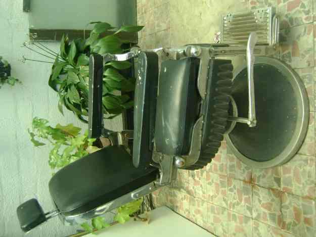 Silla de barberia antigua para restaurar medell n for Sillas para barberia