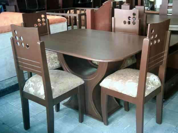 Comedor madera palmira hogar jardin muebles for Comedores de madera economicos