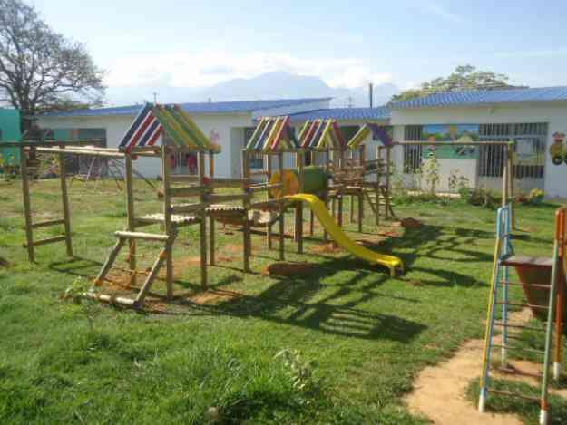 Parques infantiles de madera bogot juguetes juegos - Parque infantil de madera ...