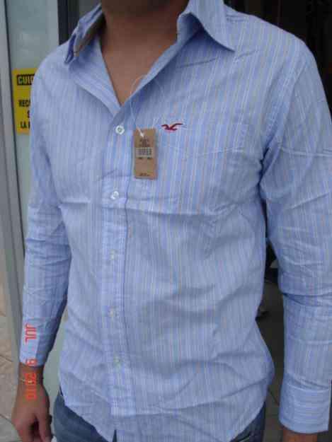 Camisas Abercrombie Manga Larga