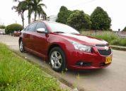 Vendo chevrolet cruz niquel 1.8 automatico modelo 2011, 14.000 kmts, rojo velvet..