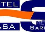 Para que compartir - hotel  casa  sarita  economico y comodo  con un excelente servicio.