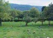Vendo lote cementerio jardines de paz - bogotá