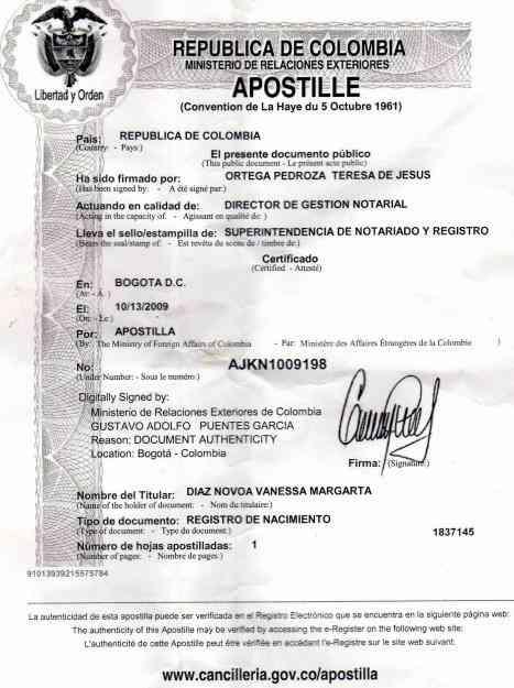 Certificado De Matrimonio Simbolico : Apostillar acta de matrimonio española tus tramites en
