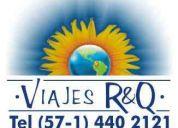 Agencia  viajes r&q contrata personal directivos, asesores, consultores,....sector turismo