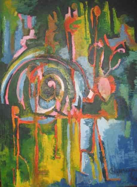 Cuadros al oleo gran formato abstractos bogot - Cuadros gran formato ...