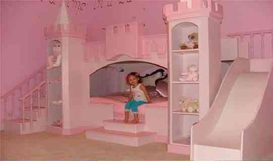 Camas casas litera castillos dormitorios tematicos castillos de princesas dragones otros - Caballeros y princesas literas ...