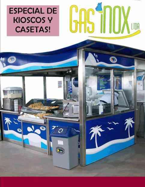 Kioscos y casetas met licas cocinas industriales el - Casetas metalicas precios ...