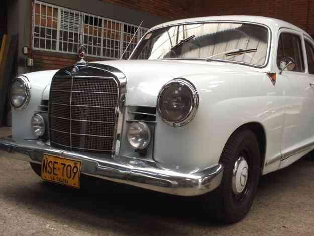 Mercedes benz 190 modelo 1961 bogot capital autos for Mercedes benz modelos