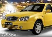 Taxi geely con o sin inicial