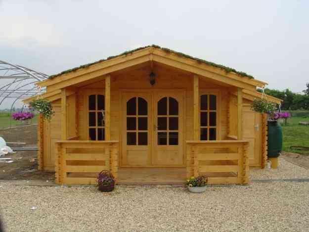 Casas prefabricadas en madera caba as kioscos juegos for Cabanas infantiles en madera