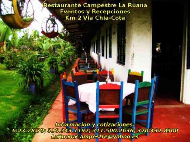 EVENTOS Y REUNIONES - Despedidas de Fin de Año - Restaurante La Ruana Campestre, Bogotá