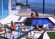 Exclusivo condominio frente al mar