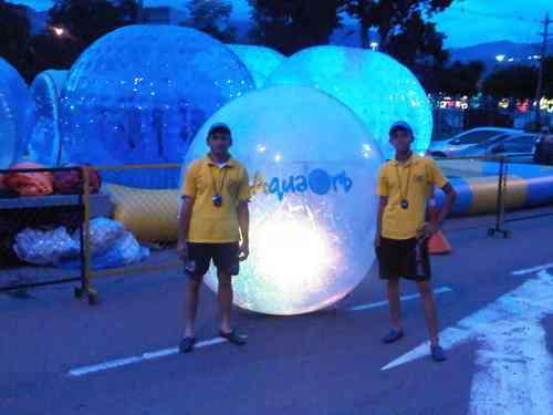 Alquiler renta esferas bolas y piscinas inflables for Ventas piscinas inflables