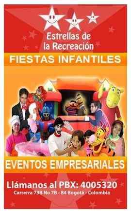 Eventos fiestas infantiles Bogotá