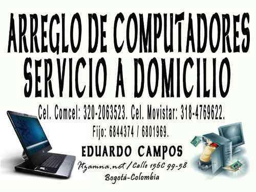 SERVICIO TÉCNICO EN REPARACIÓN DE COMPUTADORES