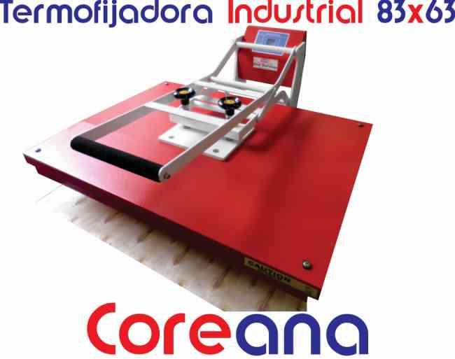 plancha industrial de estampado sublimacion 83x63 coreana venta en pereira