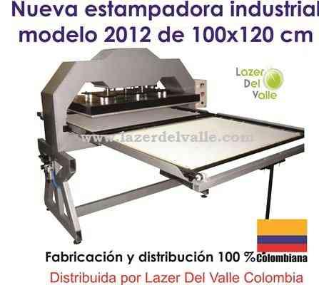 maquina industrial sublimadora de 110x80 neumatica venta en bucaramanga