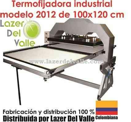 venta de maquinas termofijadoras industriales 110x80 neumaticas en cali