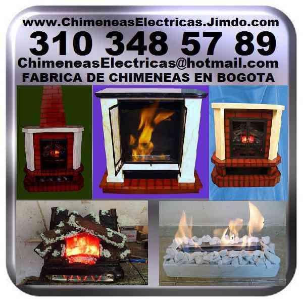 Fabrica de chimeneas electricas o etanol con calefaccion - Calefaccion de gas o electrica ...