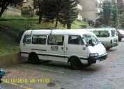 Barata camioneta van diesel con trabajo y papeles al dia,recibo carro,negociable