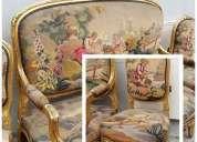 Sala muebles estilo luis xv
