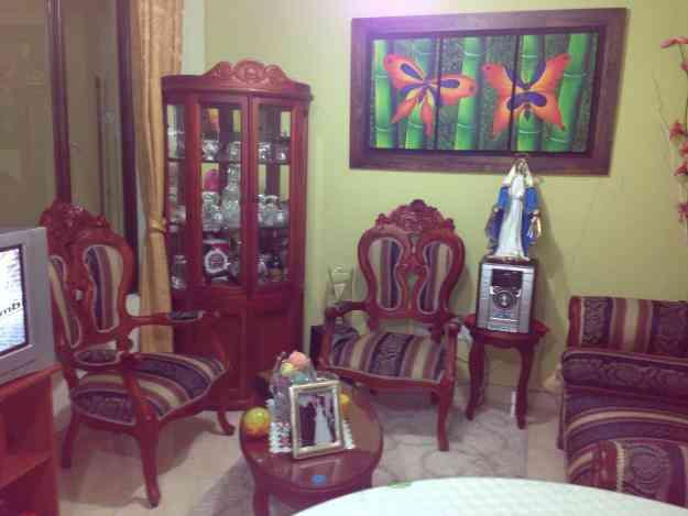 Vendo sala y comedor estilo isabelino manizales hogar for Vendo muebles jardin