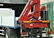 Gruas para camion hiab palfinger fassi