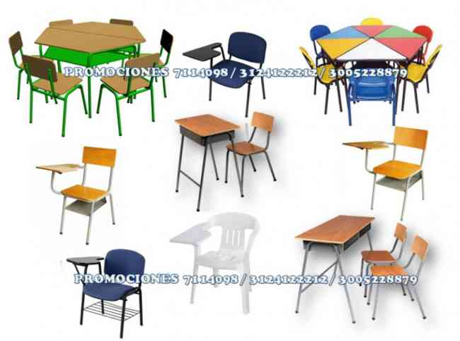 Promocion de pupitres y muebles escolares bogot for Trabajo en comedores escolares bogota