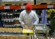 Busco trabajo soy aux de cocina