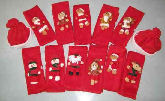 Gorros y bufandas navideños para niños y adultos ¡diseño exclusivo!