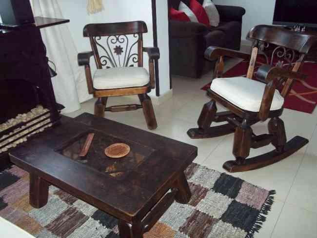 Sala rustica en perfecto estado   bogotá   hogar   jardin   muebles