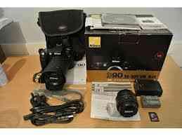Nikon D90 DSLR cámara