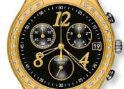 Reloj swatch dreamnight yellow