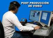 Filmación y edición de video profesional