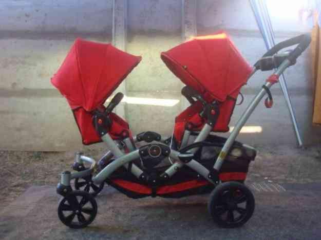 coche doble para gemelos o mellizos popay n art culos para ni os y beb s. Black Bedroom Furniture Sets. Home Design Ideas