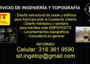 Servicio de ingenieria civil y topografia