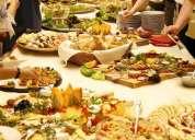 Platos gourmet para eventos especiales