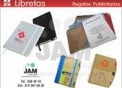 Cuadernos empresariales con anillado doble o