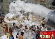 Show de espuma y efectos especiales para fiestas y eventos en bucaramanga