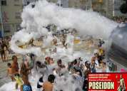 Show de espuma para fiestas infantiles y eventos en bucaramanga y santander