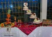 Banquetes para eventos= matrimonio = 15 aÑos