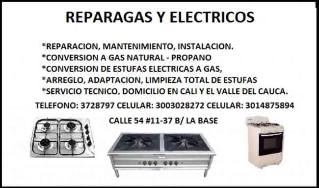 Estufas a Gas. Estufas Electricas, Estufas Industriales-