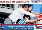 Baterias autos y motos en cali ...servicio a domicilio