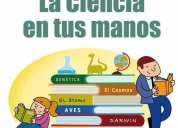Clases estadística, física, matemáticas, macroeconomia, finanzas, química, bioquímica.