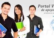 Clases, exámenes, trabajos de matemáticas, estadística, física, química, microeconomía