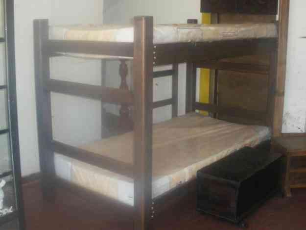 Camarotes camas dobles cama cunas somier camas para for Camas dobles para ninos precios