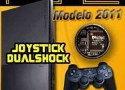 Play 2 ultimo modelo +chip matrix +1 joystick +regalo +gtia!
