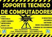 Soporte tecnico en sistemas