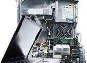 Reparacion y mantenimiento de portatiles y escritorio.